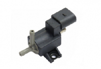What are the structural characteristics of the automotive vacuum solenoid valve?