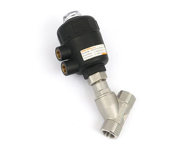 二位二通塑料50毫米缸径常闭有水锤气控流体阀