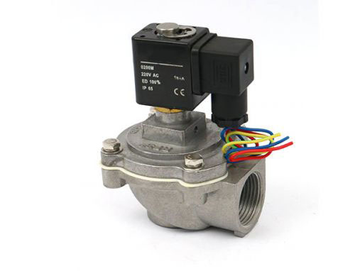 Right angle electromagnetic pulse valve