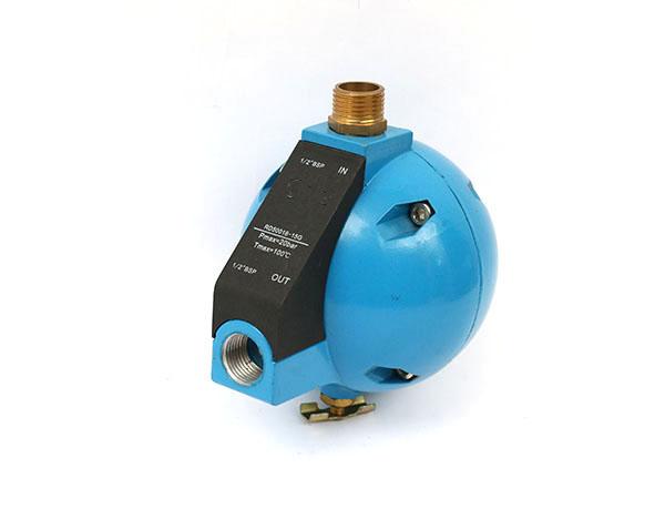 无需安装螺栓自动球形排水阀