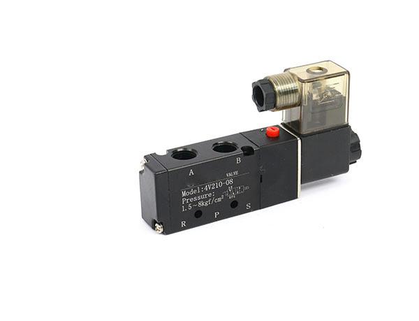 4V200系列二位五通单电控电磁阀