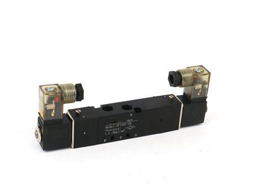 4V100系列双头三位置封闭型电磁阀