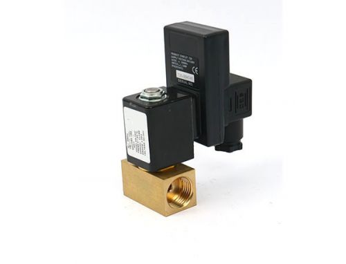 2/2-way direct-acting brass electronic timing drai