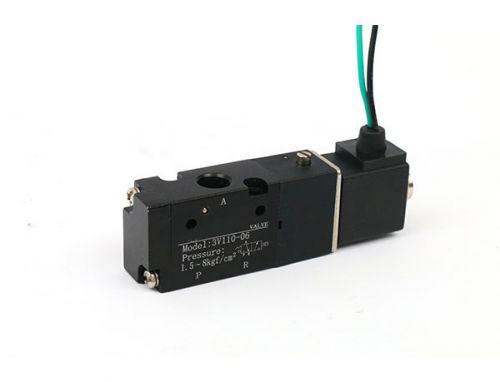 4V100系列二位五通单电控电磁阀